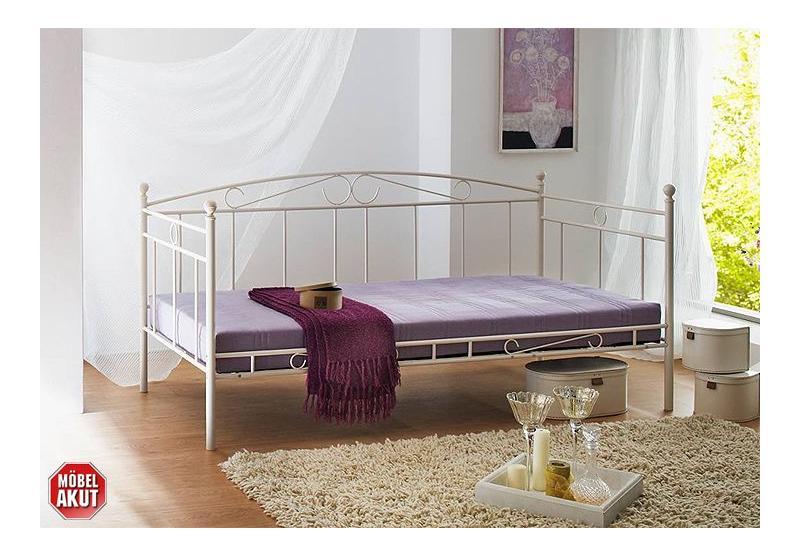 pin betten vhb 90 wei es metallbett 140x200 cm mit. Black Bedroom Furniture Sets. Home Design Ideas