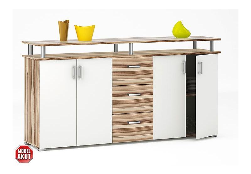 sideboard lios kommode anrichte in baltimore walnuss. Black Bedroom Furniture Sets. Home Design Ideas