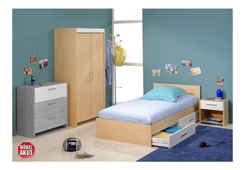 root kinderzimmer 5tlg buche hell wei. Black Bedroom Furniture Sets. Home Design Ideas