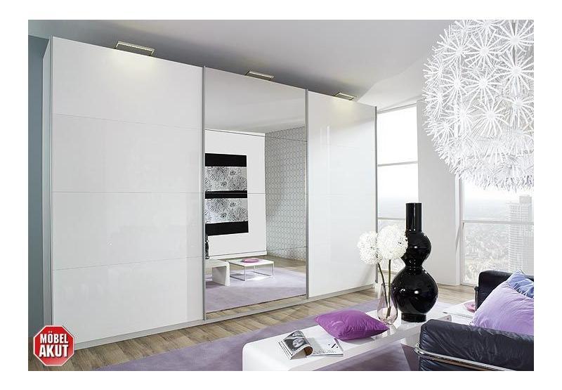 schwebet renschrank beluga wei hochglanz spiegel 315x223. Black Bedroom Furniture Sets. Home Design Ideas