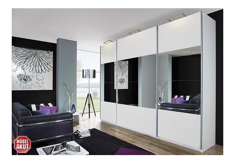 schwebet renschrank ii beluga wei hochglanz 315x223 cm. Black Bedroom Furniture Sets. Home Design Ideas