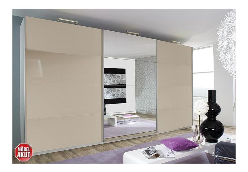schwebet renschrank beluga in sandgrau wei spiegel 405x223. Black Bedroom Furniture Sets. Home Design Ideas