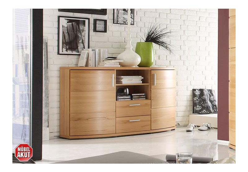 sideboard avaro kommode anrichte in kernbuche massiv neu ebay. Black Bedroom Furniture Sets. Home Design Ideas