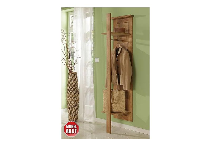 Garderobe paolo schrank in eiche massiv neu ovp for Garderobe echtholz eiche