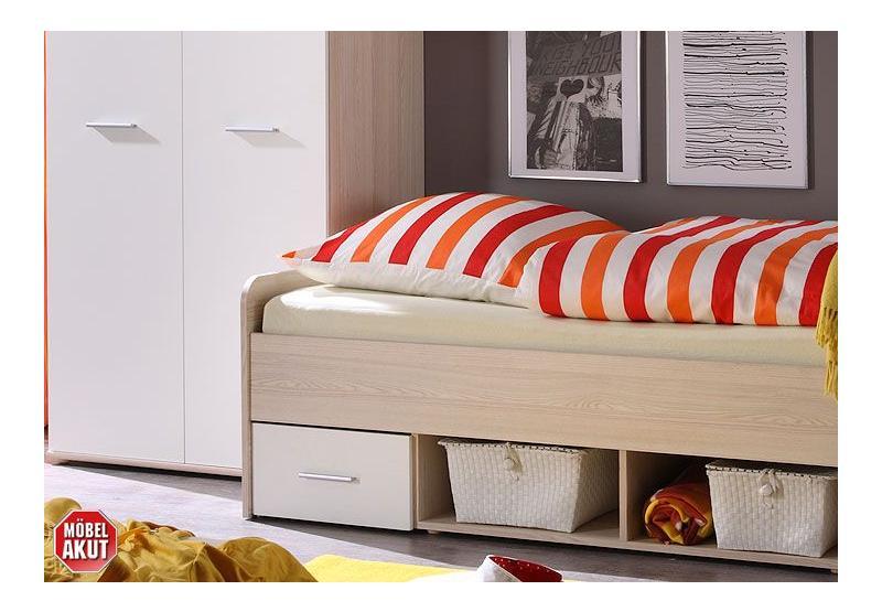 jugendzimmer set nadal esche und wei 4 tlg. Black Bedroom Furniture Sets. Home Design Ideas