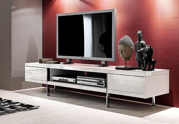 tv lowboard hochglanz wei lackiert brisbane 9811 48983w1 pictures to pin on pinterest. Black Bedroom Furniture Sets. Home Design Ideas