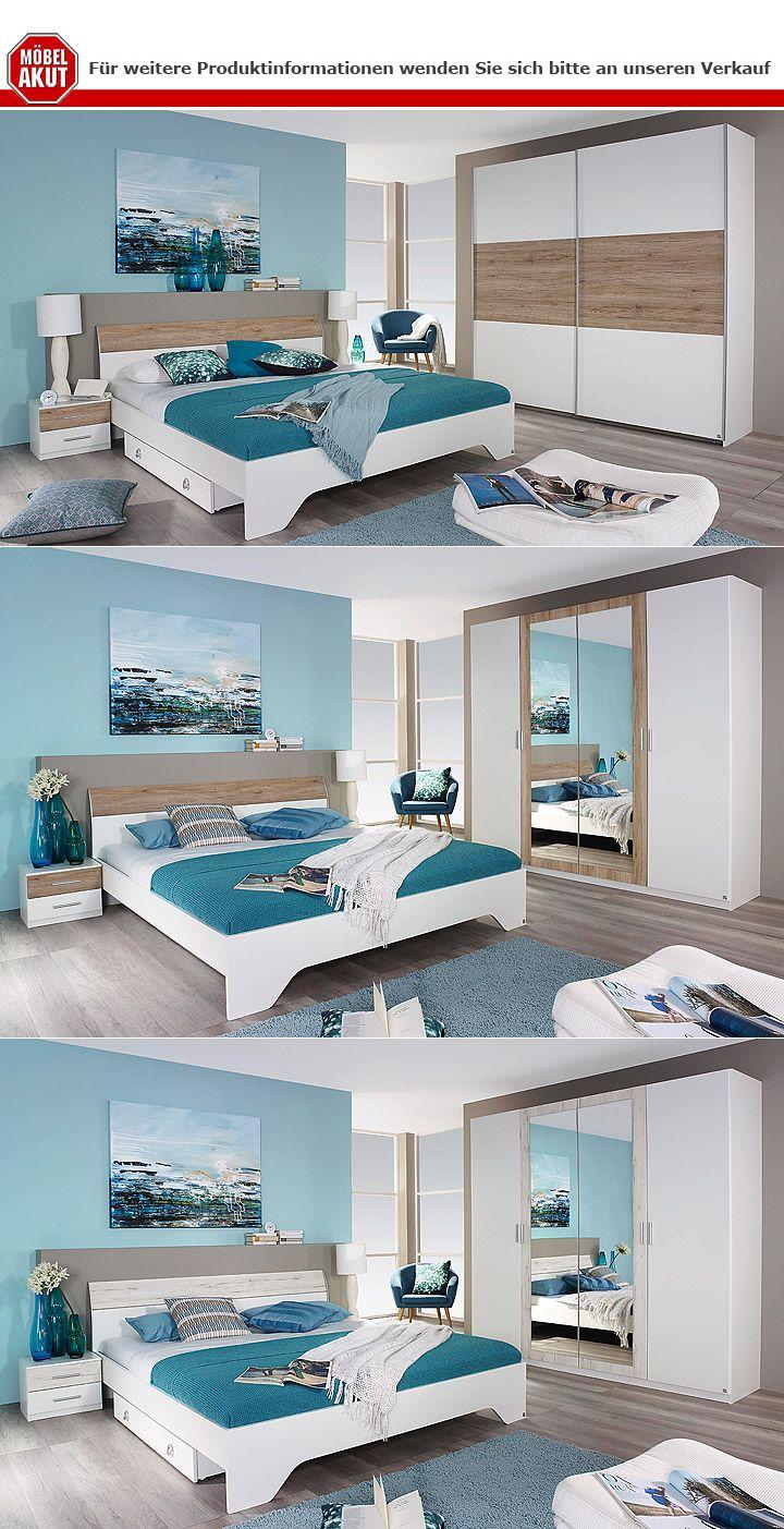 kleiderschrank heinsberg wei eiche sanremo hell b 218 cm. Black Bedroom Furniture Sets. Home Design Ideas