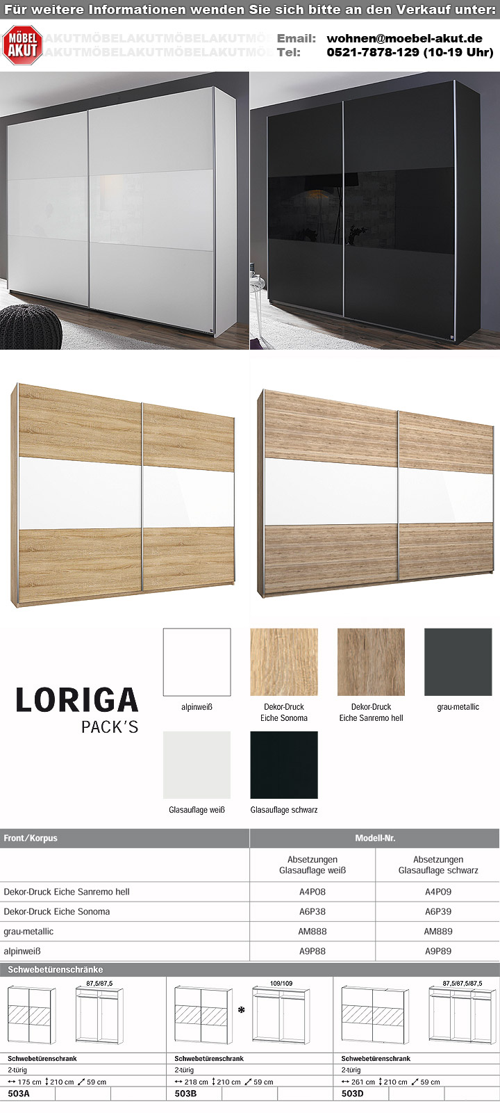 schwebet renschrank loriga wei glas wei b 261 cm. Black Bedroom Furniture Sets. Home Design Ideas