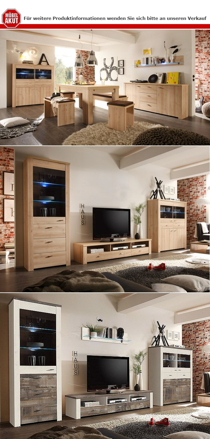sidboard mad kommode anrichte in sonoma eiche dunkel ebay. Black Bedroom Furniture Sets. Home Design Ideas