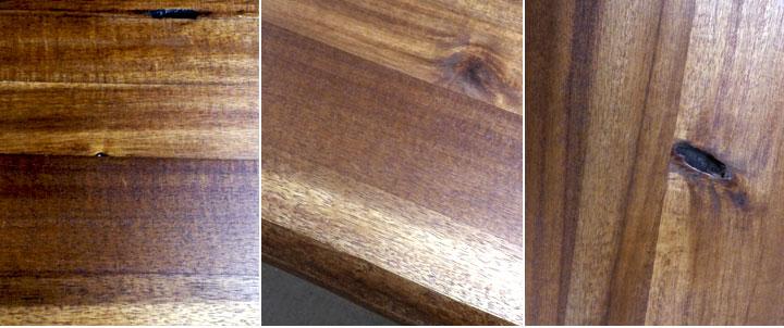 Esstisch Queens Tisch Esszimmer Akazie Massiv ~ Esstisch Queens Tisch Esszimmer Akazie massiv Natur geölt und Metall grau 180