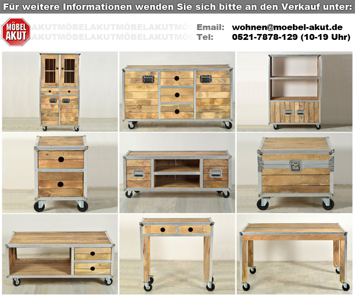kommode roadies wohnzimmer schrank massivholz mango mit. Black Bedroom Furniture Sets. Home Design Ideas