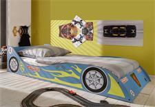 Rennwagenbett in blau Kinder- und Jugendbett
