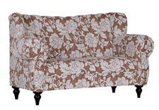 k chensofa 2 sitzer trina 2 braun antik cappuccino 154 cm. Black Bedroom Furniture Sets. Home Design Ideas