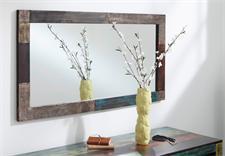 Spiegel GOA 135x70 von Wolf Möbel in Massivholz Mango