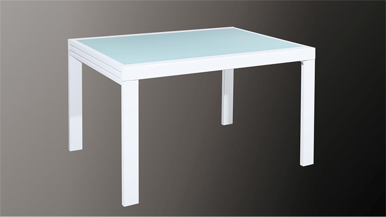 Tisch Aus Glas Metall Architektonischem Look