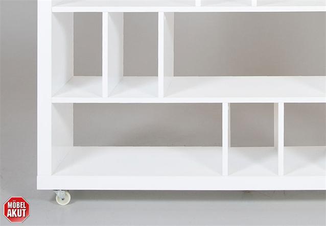 b cherregal grid regal in wei hochglanz lackiert ebay. Black Bedroom Furniture Sets. Home Design Ideas