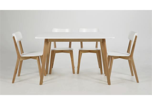 tisch raven 120x80 cm k chentisch esszimmertisch in birke. Black Bedroom Furniture Sets. Home Design Ideas