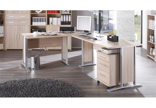arbeitszimmer b ro set 2 office line schreibtisch regal
