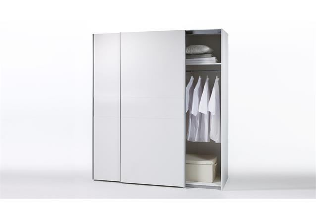 kleiderschrank schwebet renschrank victor 2 schrank in wei 170 ebay. Black Bedroom Furniture Sets. Home Design Ideas