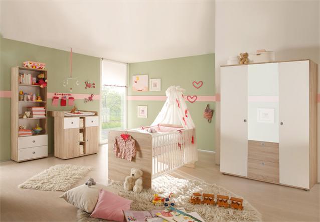 babybett wiki kinderbett gitterbett in sonoma eiche. Black Bedroom Furniture Sets. Home Design Ideas