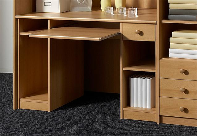 hochbett unit etagenbett kinderbett bett in buche 90x200 cm ebay. Black Bedroom Furniture Sets. Home Design Ideas
