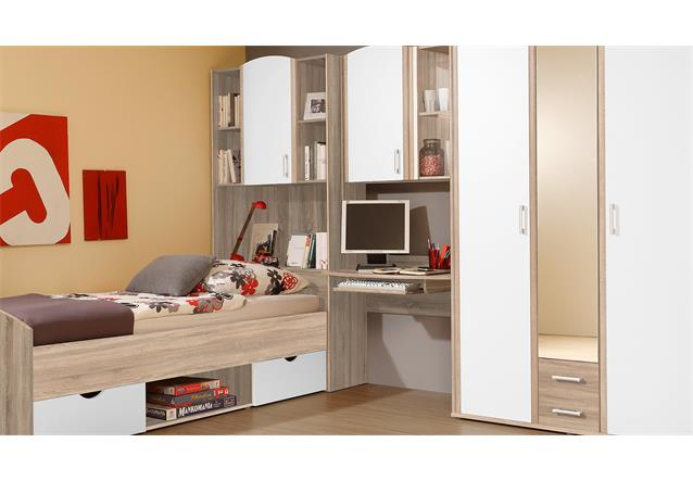 jugendzimmer nemo kinderzimmer bett schrank schreibtisch. Black Bedroom Furniture Sets. Home Design Ideas