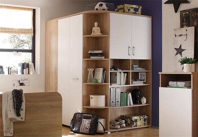 kleiderschrank begehbarer eckschrank corner jugendzimmer. Black Bedroom Furniture Sets. Home Design Ideas