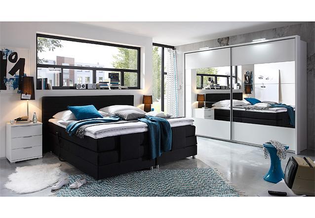 schwebet renschrank penta kleiderschrank in wei mit spiegel 270 cm breit ebay. Black Bedroom Furniture Sets. Home Design Ideas