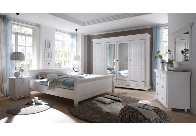 kleiderschrank oslo dreht renschrank schrank kiefer massiv wei spiegel 254 cm ebay. Black Bedroom Furniture Sets. Home Design Ideas