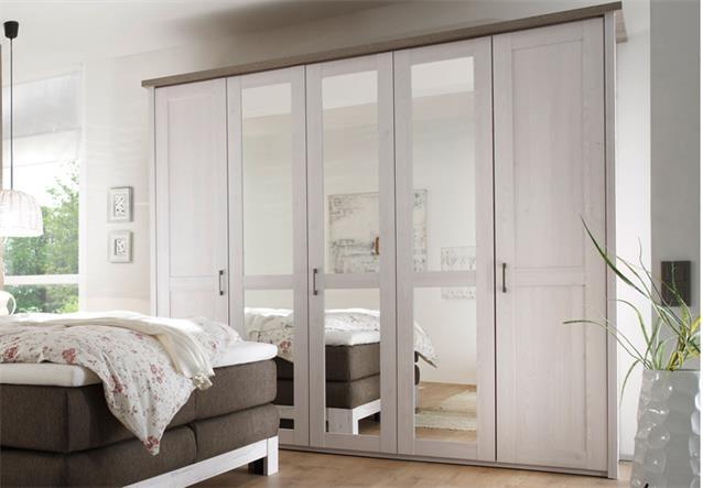 schlafzimmer luca nevada boxspringbett kleiderschrank nakos pinie wei tr ffel ebay. Black Bedroom Furniture Sets. Home Design Ideas
