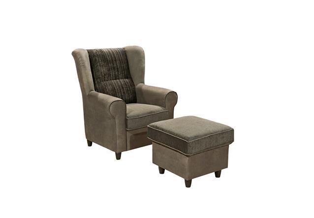 hocker canyon polsterhocker in braun schwarz blau grau schwarzbraun auswahl ebay. Black Bedroom Furniture Sets. Home Design Ideas
