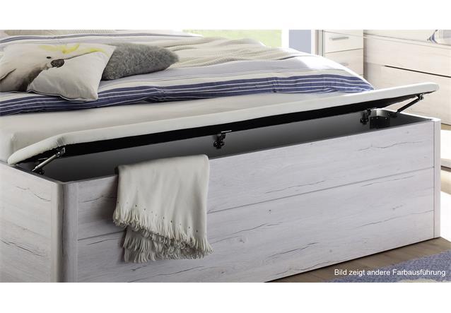 bettanlage mars xl wei beton inkl led und bettkasten bett nachtkommode. Black Bedroom Furniture Sets. Home Design Ideas