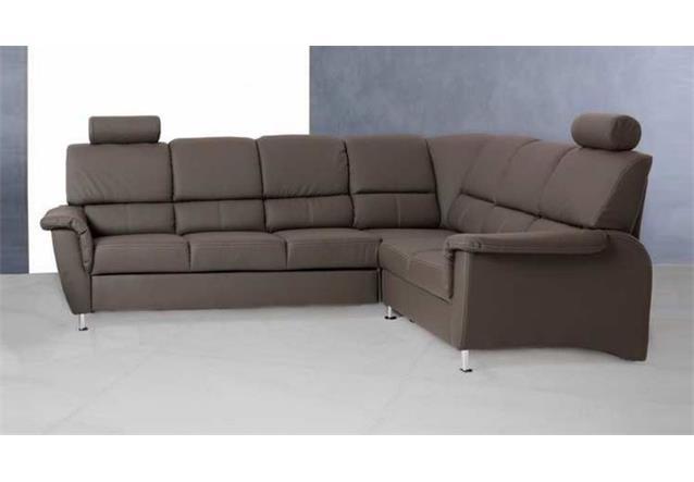 Ecksofa pisa eckgarnitur sofa in dunkelgrau mit for Ecksofa ebay