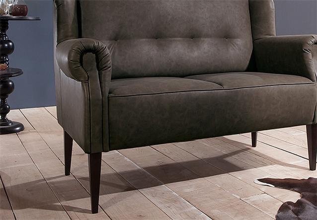 k chensofa moro 2er sofa speisesofa sofa polsterm bel in hellbraun ebay. Black Bedroom Furniture Sets. Home Design Ideas