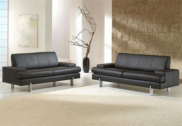 Ak 644 3er Sofa Aus Dem Hause Rolf Benz Leder Schwarz Ebay