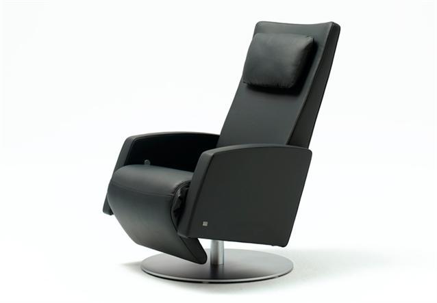 sessel rolf benz funktions sessel lse 5800 in leder schwarz neu ebay. Black Bedroom Furniture Sets. Home Design Ideas