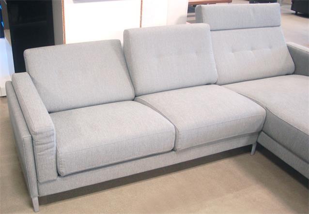 ecksofa rolf benz pronto in stoff hellgrau anreihsofa mit abschlusssessel rechts ebay. Black Bedroom Furniture Sets. Home Design Ideas