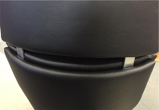 Liegesessel Rolf Benz L Se 590 Sessel In Leder Schwarz Mit