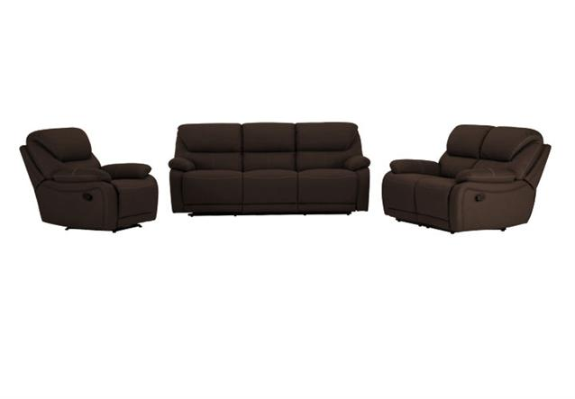 2er sofa berano polsterm bel in beige wei mit relaxfunktion neu ebay. Black Bedroom Furniture Sets. Home Design Ideas