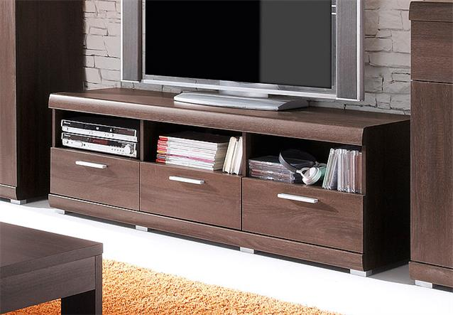 tv board mestre hifi m bel lowboard unterschrank in sonoma eiche dunkel ebay. Black Bedroom Furniture Sets. Home Design Ideas