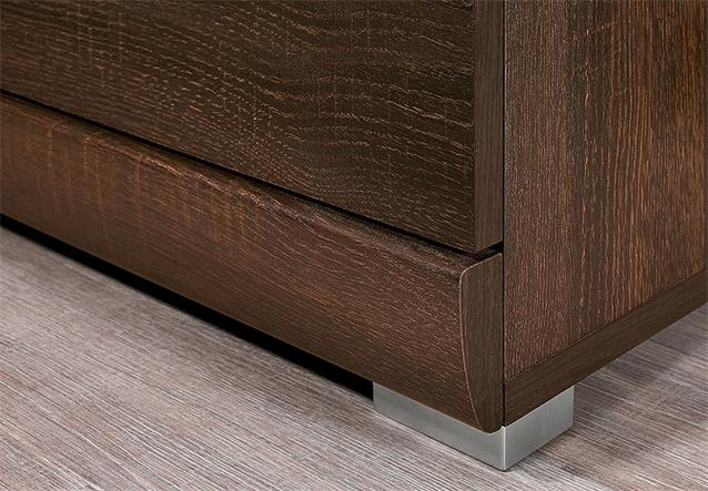 tv board mestre hifi m bel lowboard unterschrank in sonoma eiche dunkel ebay. Black Bedroom Furniture Sets. Home Design Ideas