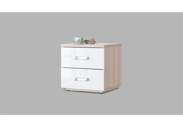 jugendzimmer 1 calisma bett schrank nako wei hochglanz lackiert coimbra esche. Black Bedroom Furniture Sets. Home Design Ideas