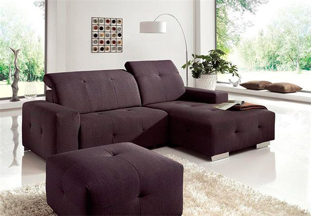 ecksofa francisco sofa lila mit elektrischer relaxfunktion 257 cm. Black Bedroom Furniture Sets. Home Design Ideas