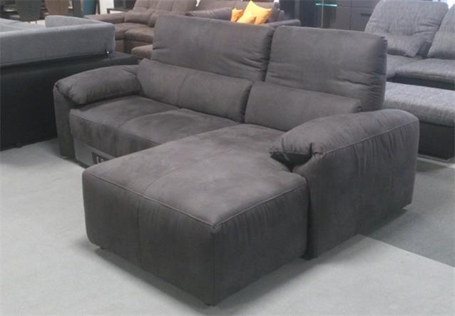 ecksofa silverstone sofa dunkelgrau wahlweise mit elektrischer loungefunktion ebay. Black Bedroom Furniture Sets. Home Design Ideas