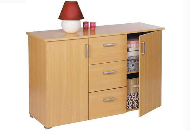 kommode swift sideboard mehrzweckschrank in buche natur. Black Bedroom Furniture Sets. Home Design Ideas