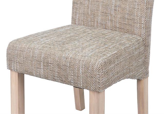 Stuhl sagua 2er set polsterstuhl strukturstoff beige ebay for Polsterstuhl beige