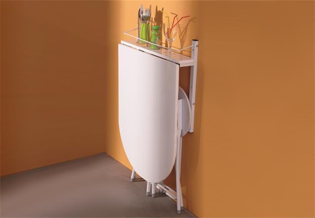 wandtisch sinai klapptisch tisch esstisch mit 2 hocker. Black Bedroom Furniture Sets. Home Design Ideas
