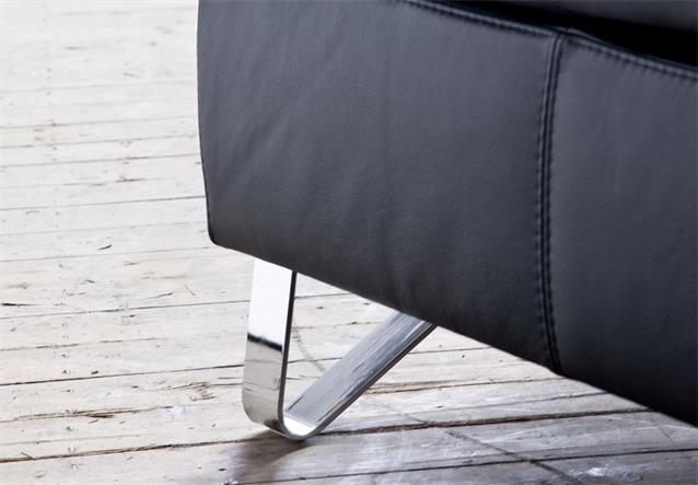 sofagarnitur finest sofa garnitur polsterm bel leder schwarz mit funktion bielefeld. Black Bedroom Furniture Sets. Home Design Ideas