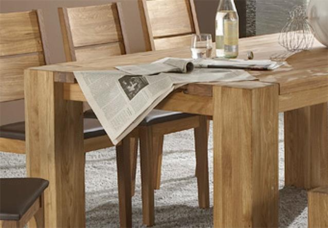 esstisch takania tisch in kern eiche massiv ge lt 200x100 cm. Black Bedroom Furniture Sets. Home Design Ideas