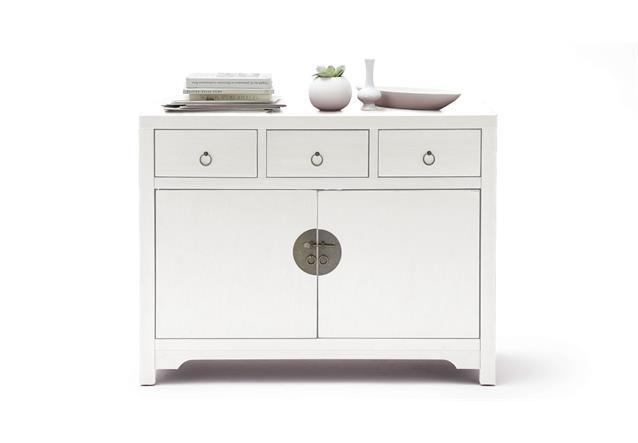 sideboard lin schrank kommode 2 t rig mit schubk sten asiatischer stil ebay. Black Bedroom Furniture Sets. Home Design Ideas